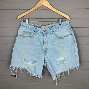 Vintage Levi's 535 Euro Fit Straight Cut Shorts